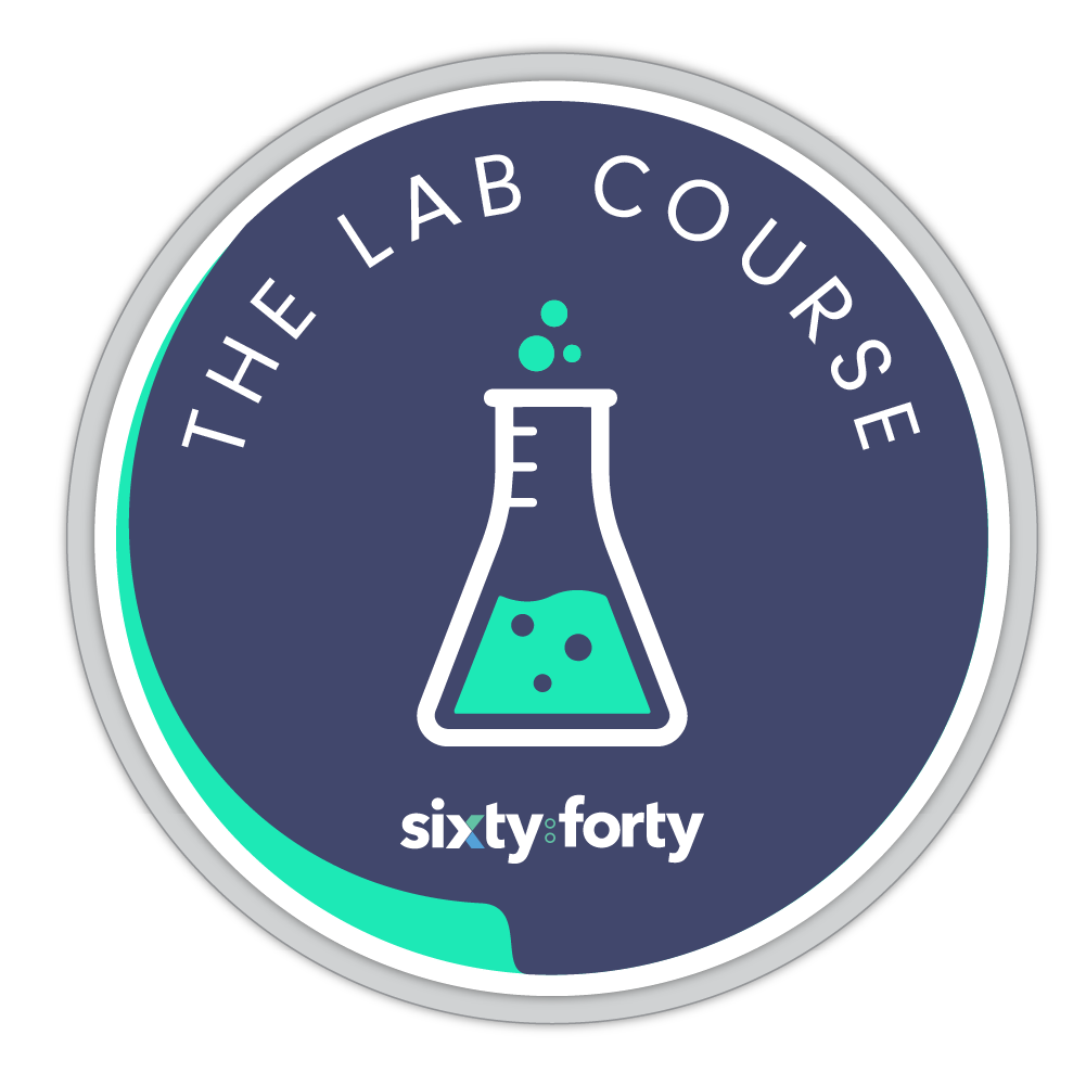 Logo - sixty:forty The Lab